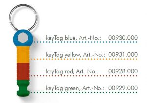 color keytags deister electronic