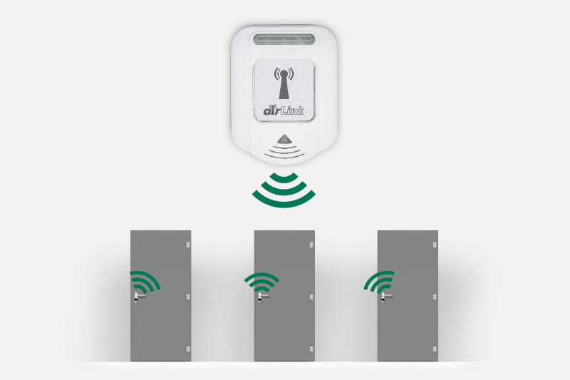 airlink for wireless locking systems