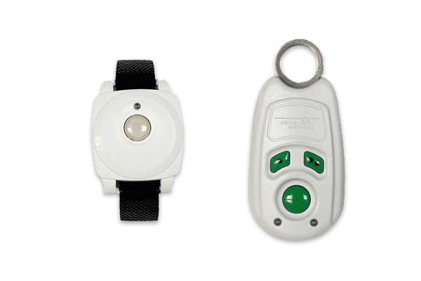 personal safety Transponder with buttons