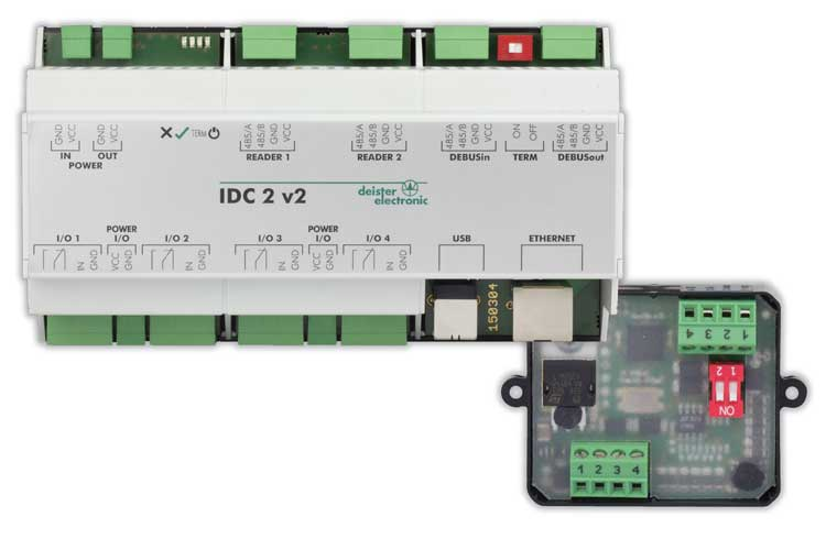 Controller & Converter for Long-Range Identification