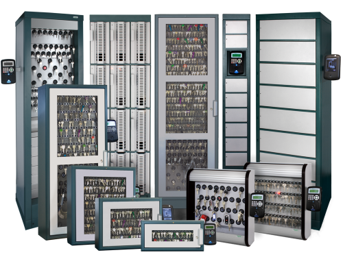 All deister key and asset management systems